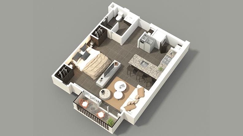 Apartamentos Santa verde Studio